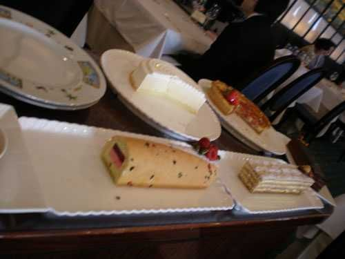 Iron Chef Sakai Dessert cart