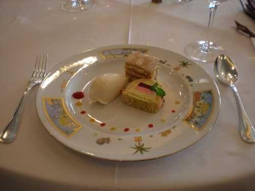 Iron Chef Sakai Dessert plate