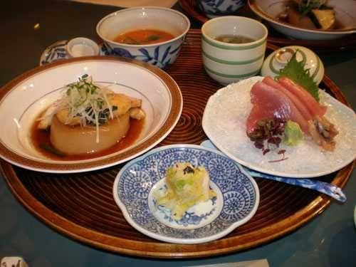 Iron Chef Michiba main - 4 dishes