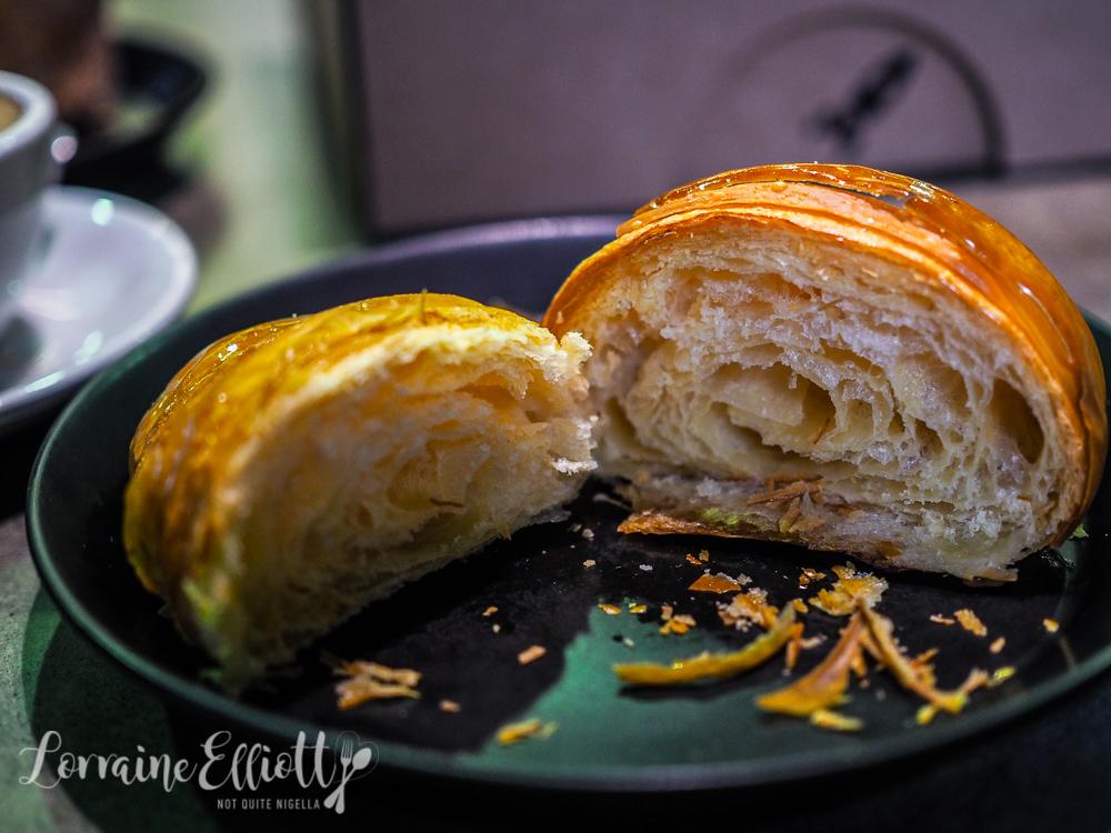 Lune croissant Croissanterie, Melbourne