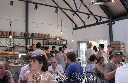 luxe, newtown, bakery, inside