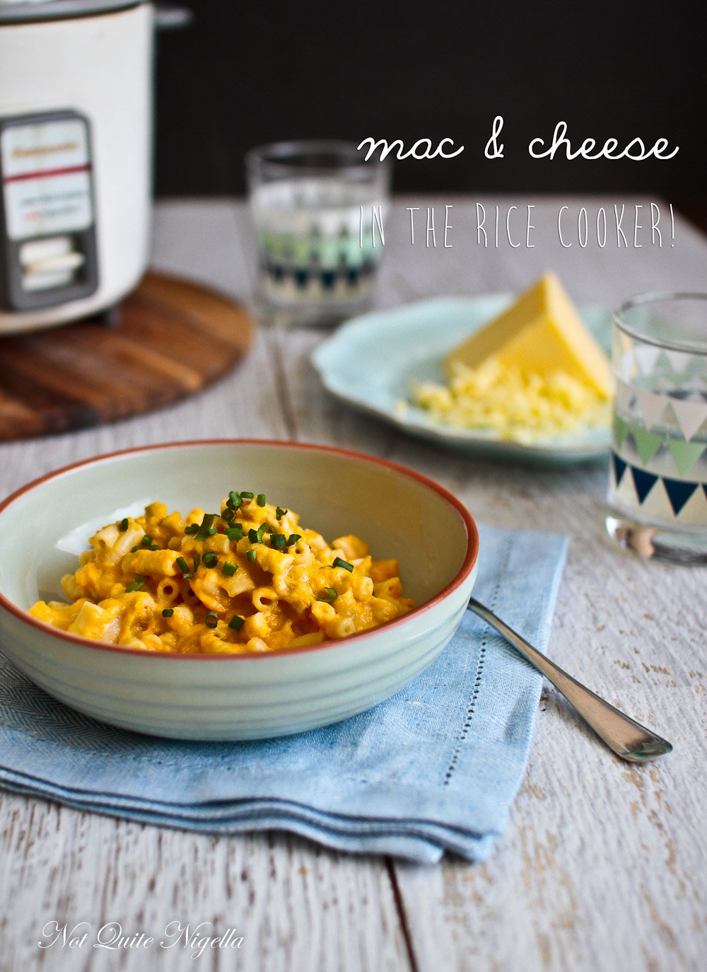 Mac Cheese Rice Cooker