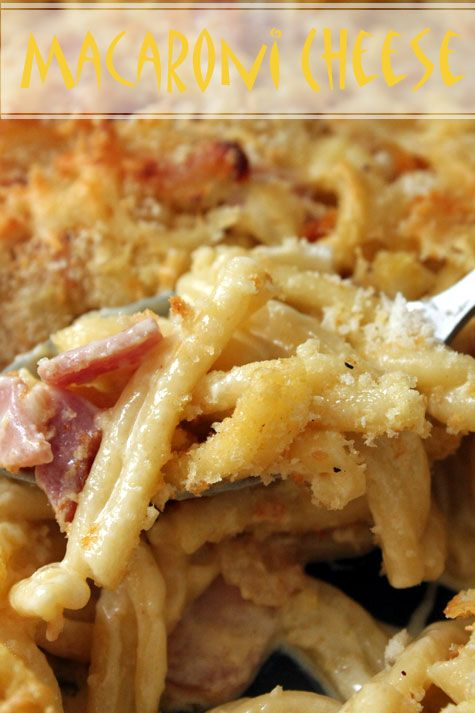 Macaroni & Cheese with Bacon