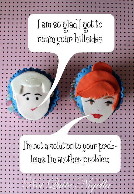 Mad Men Cupcakes!