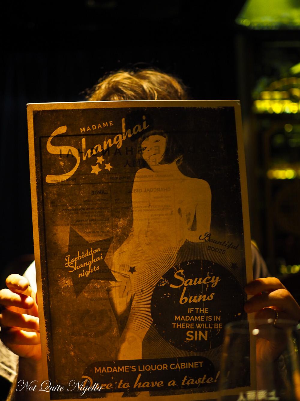 Madame Shanghai Sydney