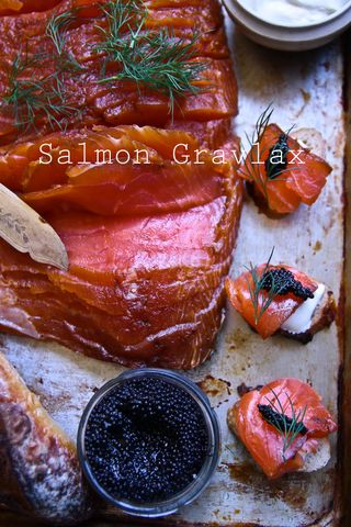 Made From Scratch: Cured Salmon Gravlax