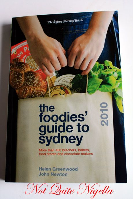 foodies guide sydney cover