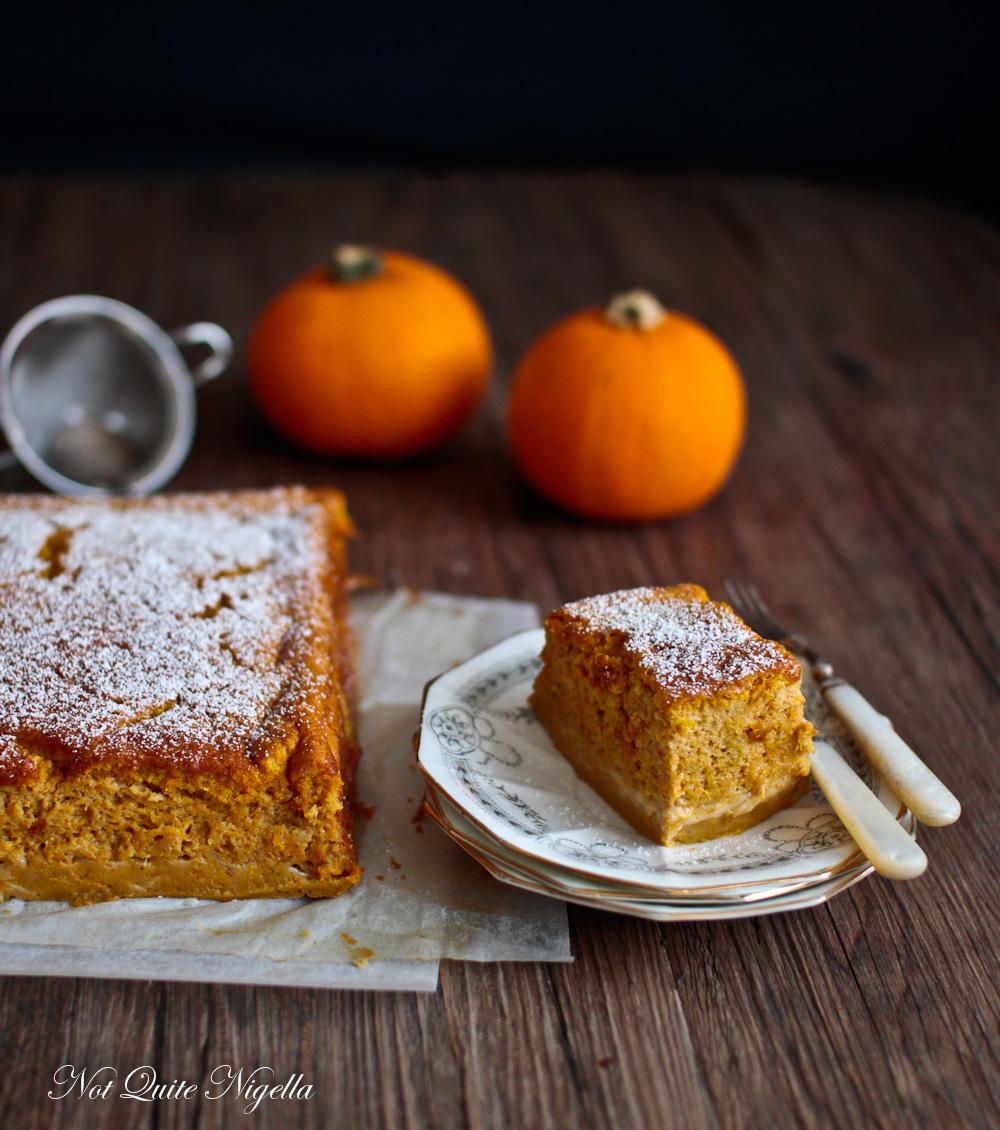 Magic Cake Pumpkin Pie