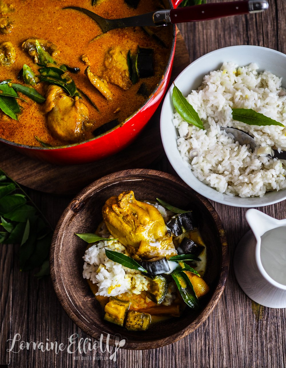 Malaysian Singaporean Chicken Curry