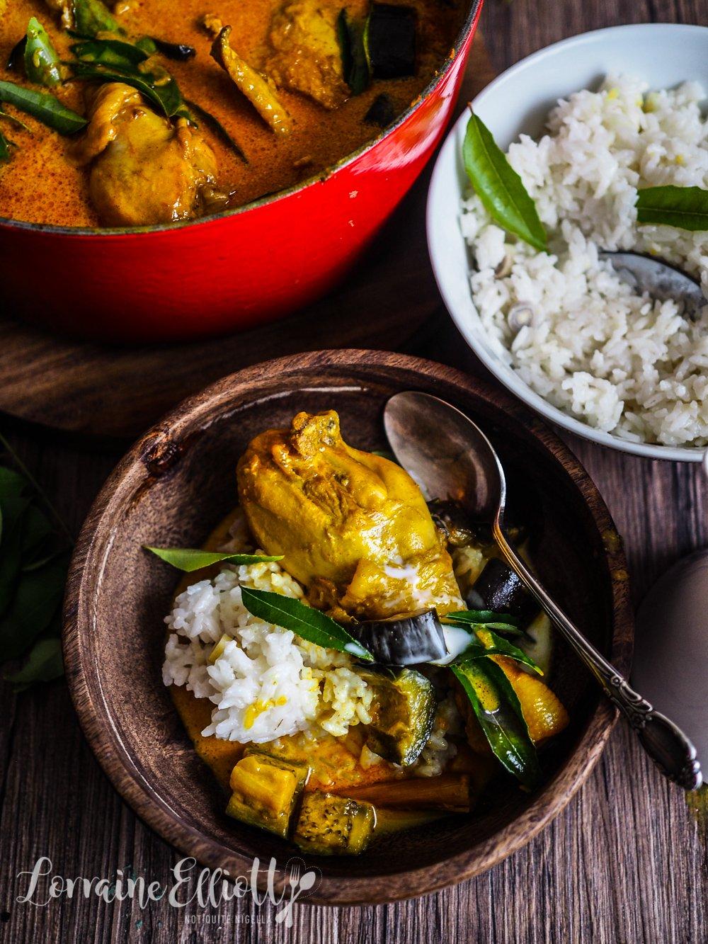 Malaysian Singaporean Chicken Curry
