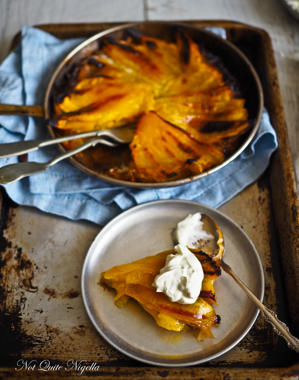 Caramelised  Mango Lime Tart