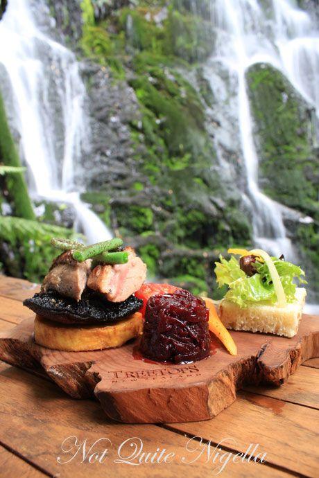 New Zealand Maori Food: Maori Indigenous Food Trail, Treetops Lodge, New Zealand