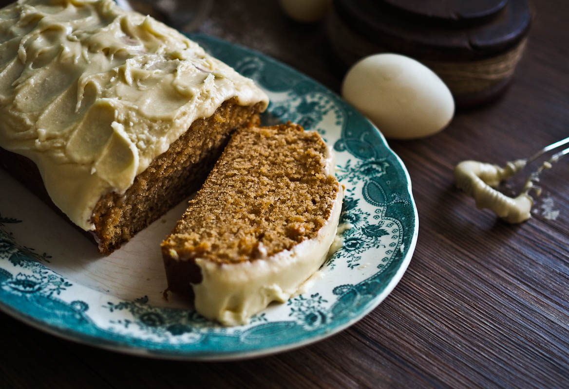 The Box Ticker: Easy, Low Fat Maple Spice Pound Cake!
