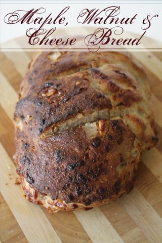 Maple, Walnut and Cheese Bread