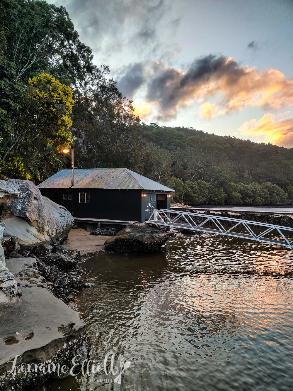 Marramarra Lodge, Fisherman's Point, Berowra Waters