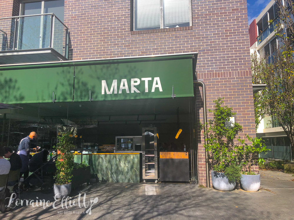 Marta's Weekend Bakery, Rushcutters Bay