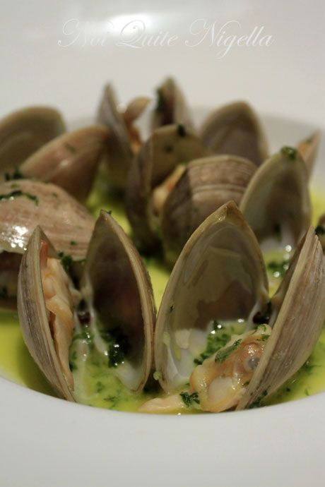 martin bosley's at yacht club, wellington, new zealand, clams