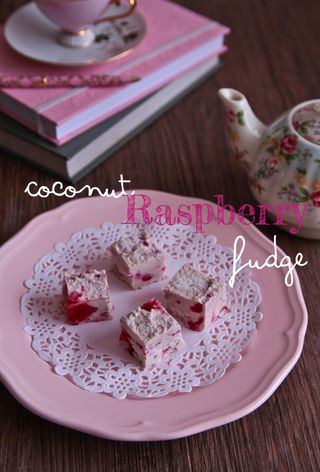 Masquerade Coconut & Raspberry Fudge