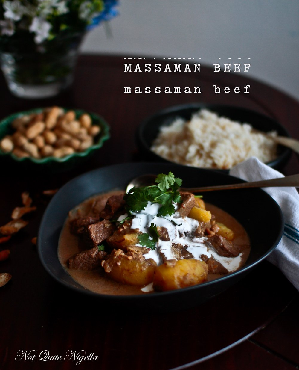 Massaman Beef Curry Not Quite Nigella