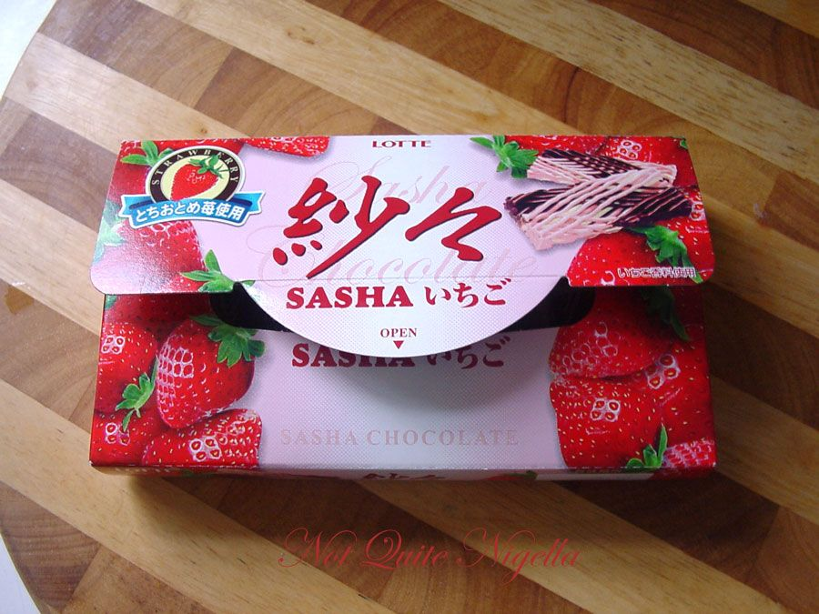 Sasha chocolates