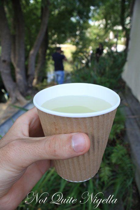 matakana farmers market, new zealand, organic lemonade