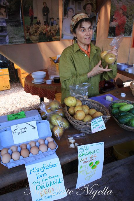 matakana farmers market, new zealand, nashi
