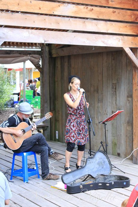matakana farmers market, new zealand, singer