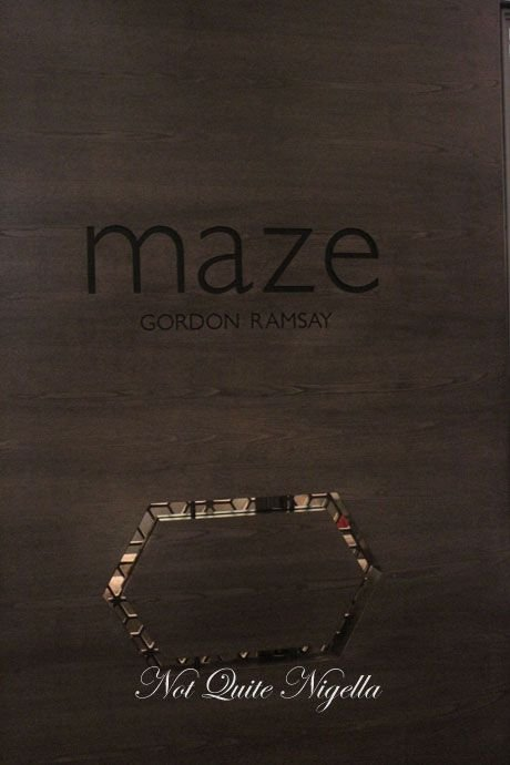 gordon ramsay, maze, melbourne, review