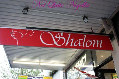 food tour shalom sign