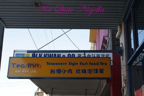 food tour tea inn sign