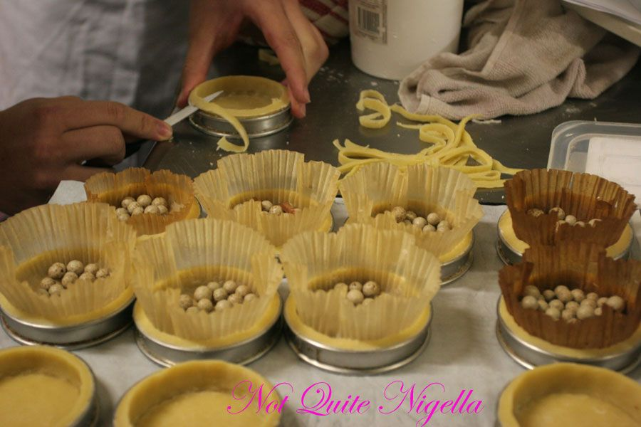 Adriano Zumbo Cooking classes Blind baking