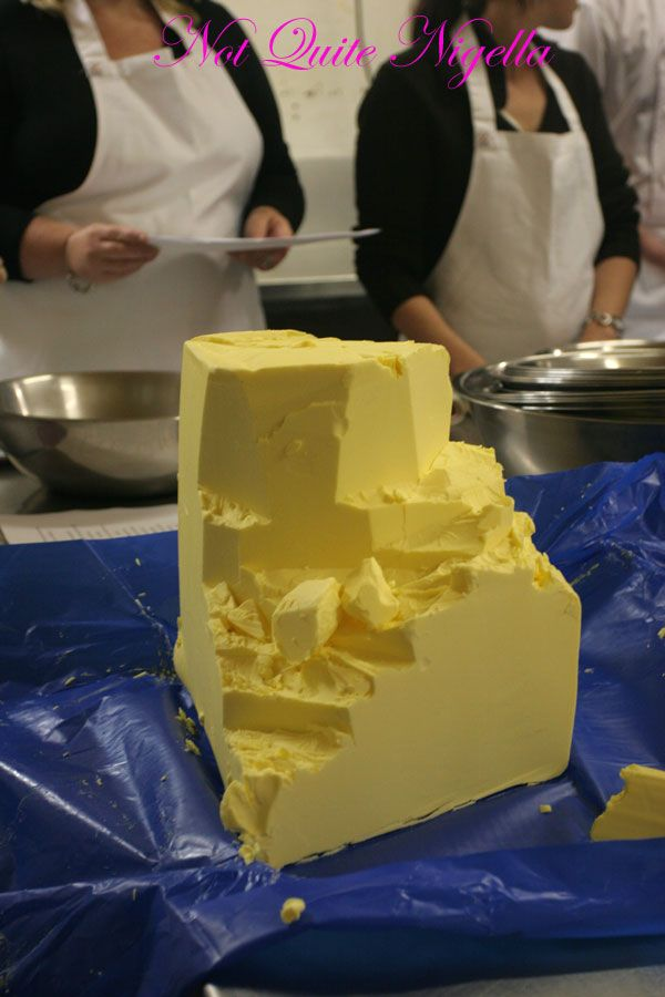 Adriano Zumbo Cooking classes butter
