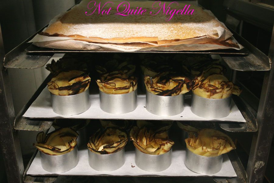 Adriano Zumbo Cooking classes crepes meringue