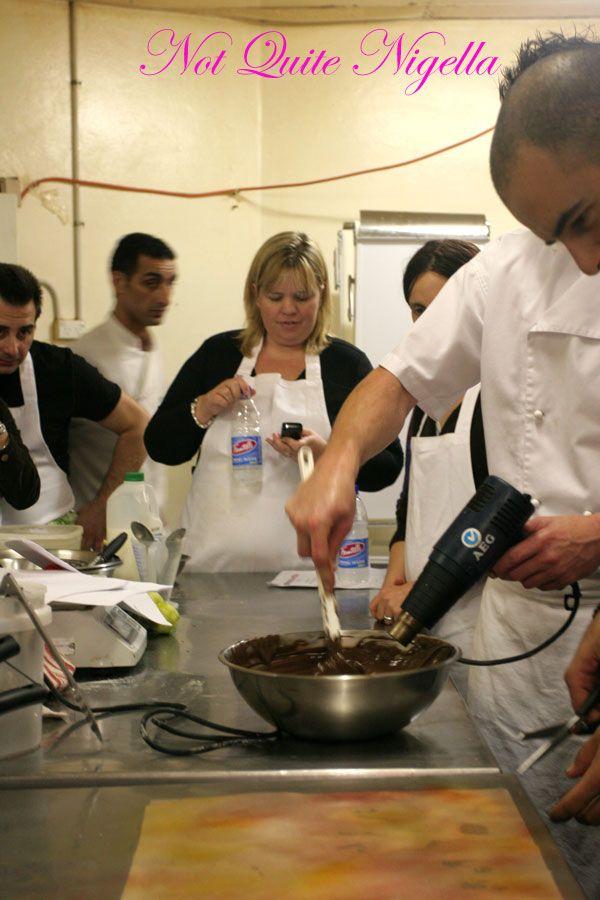 Adriano Zumbo Cooking classes heat gun