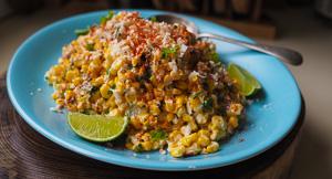 AMAZING Esquites or Mexican Street Corn Salad!