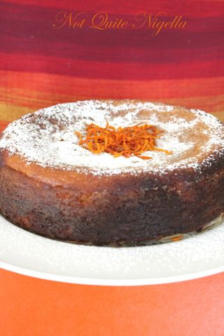 Middle Eastern Blood Orange Cake
