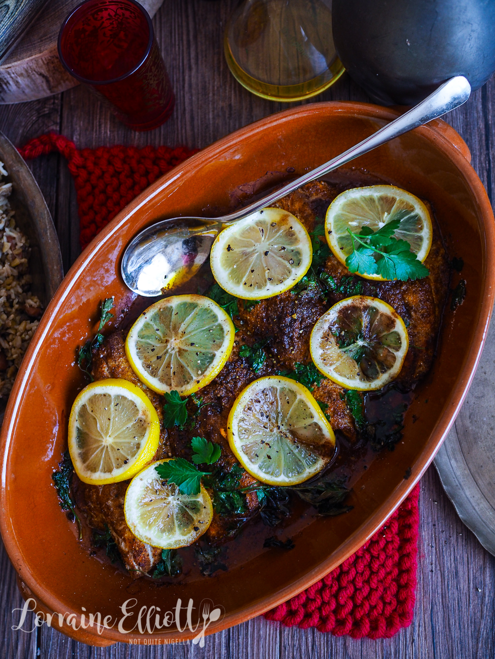 Snapper Adana With Browned Butter & Spices