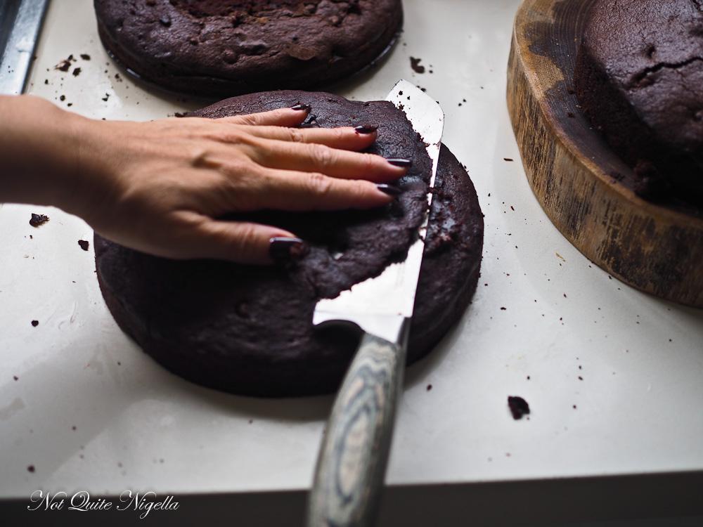 Leftover Chocolate Cake Truffle Recipe
