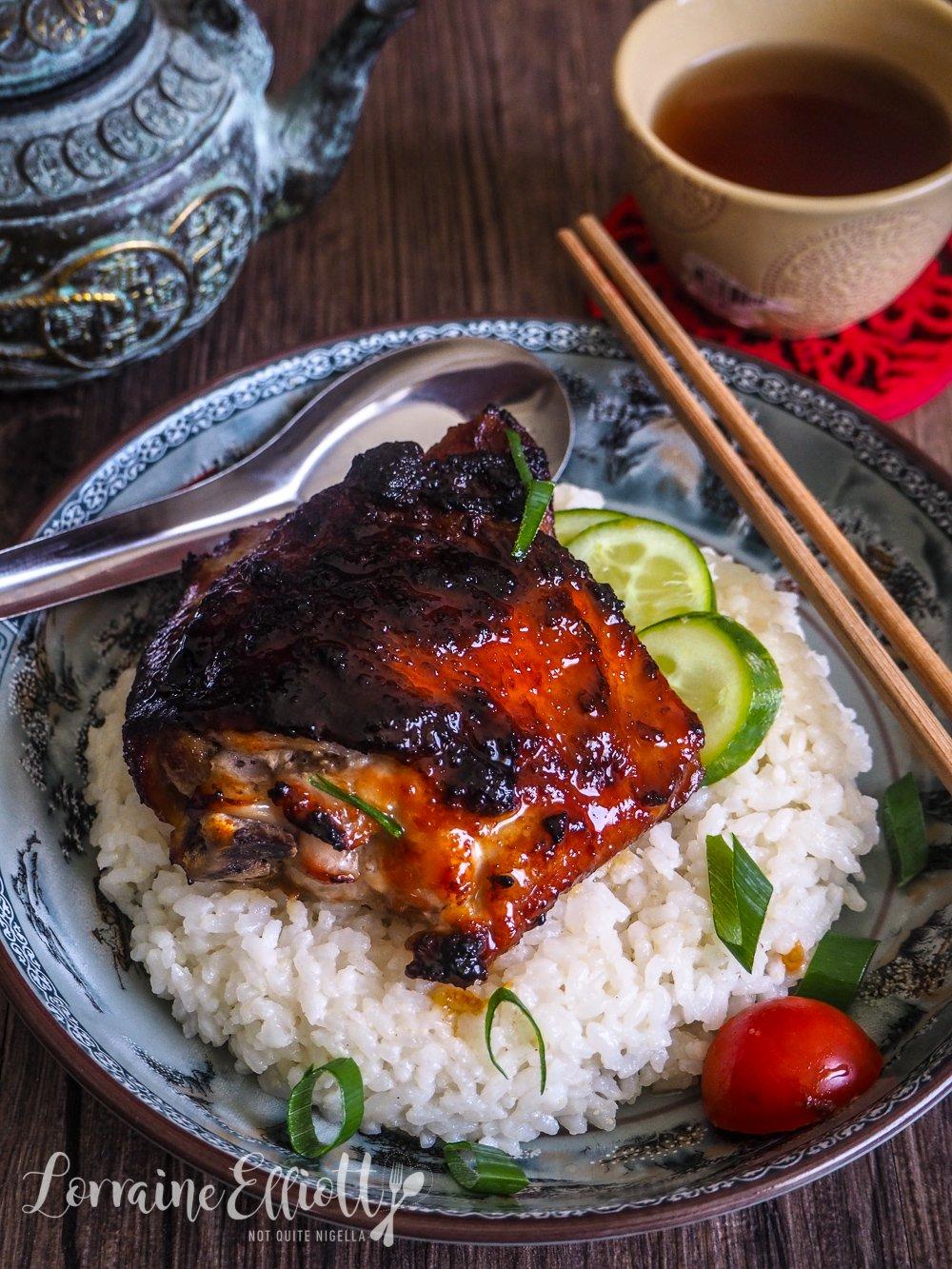 Sticky Miso Glazed Chicken