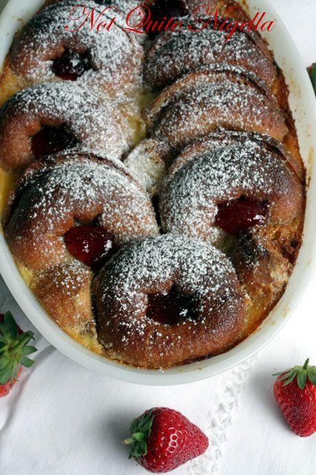 jam donut pudding 3