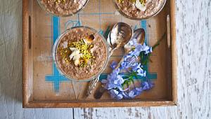 The Breakfast Club: Mocha Chia Nut Pudding!