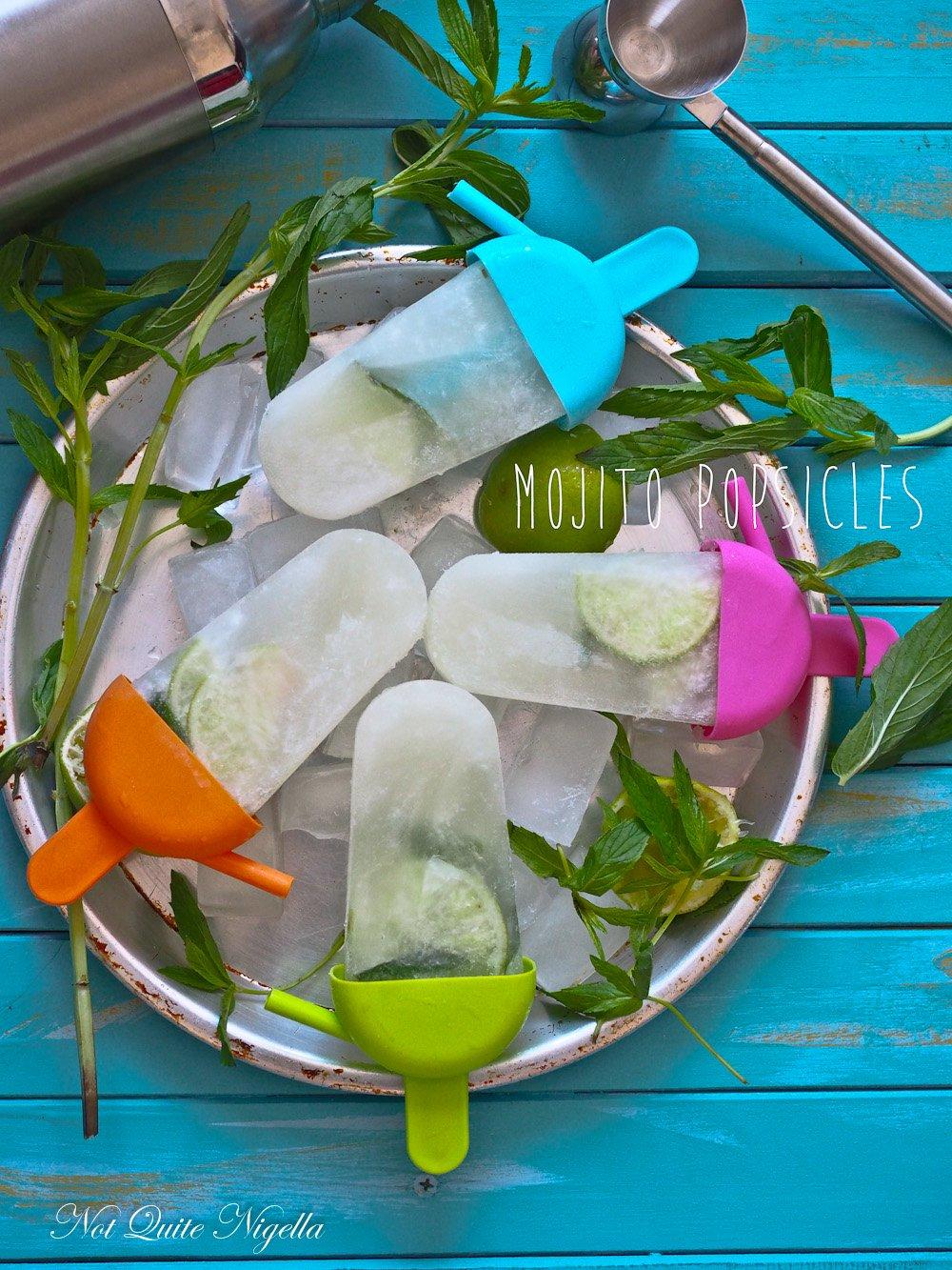 Mojito Ice Block Popsicle