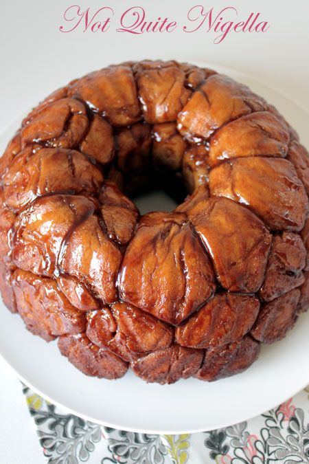 monkey bread, chocolate stuffed, from scratch