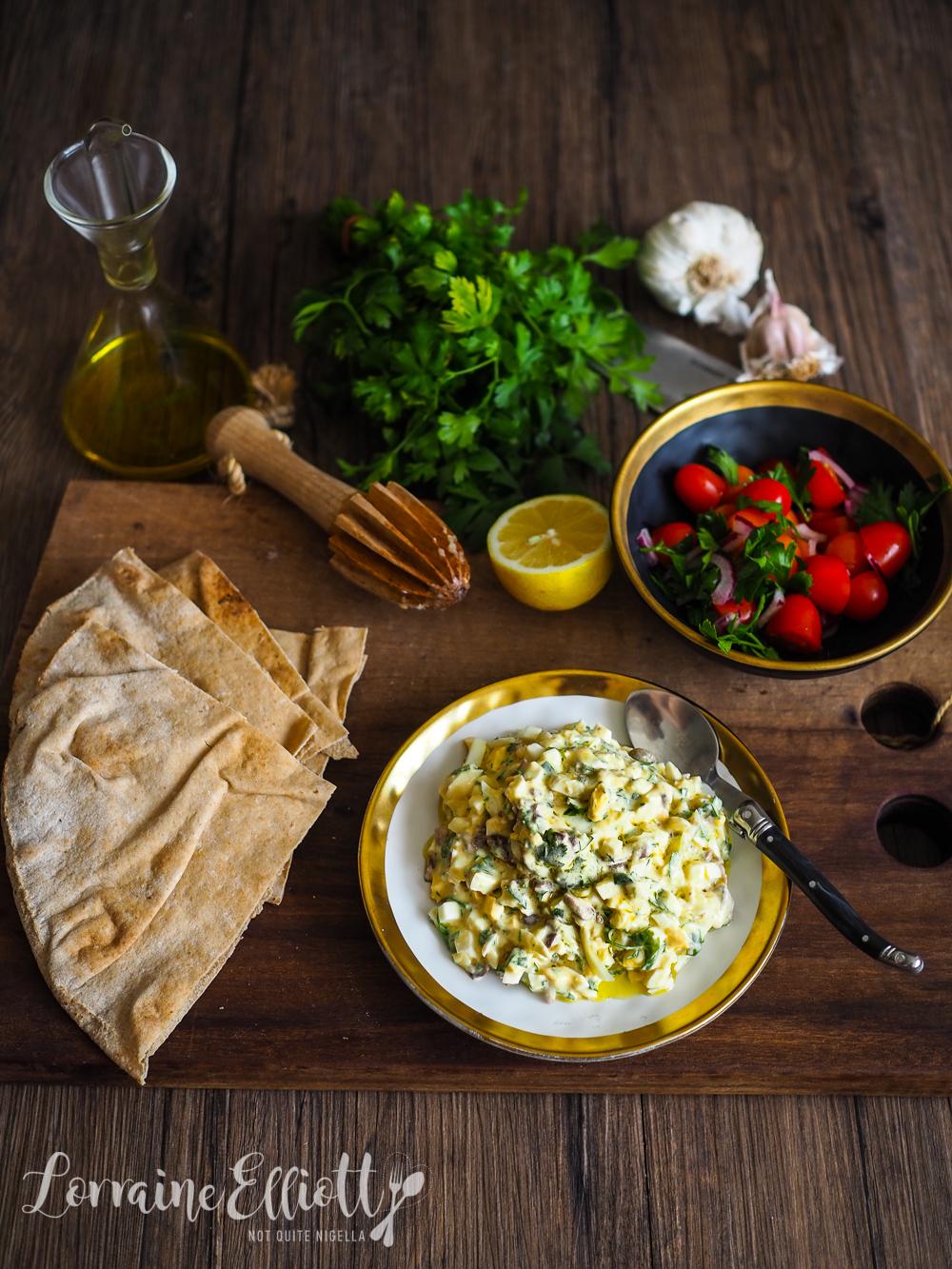 Moroccan Egg Salad
