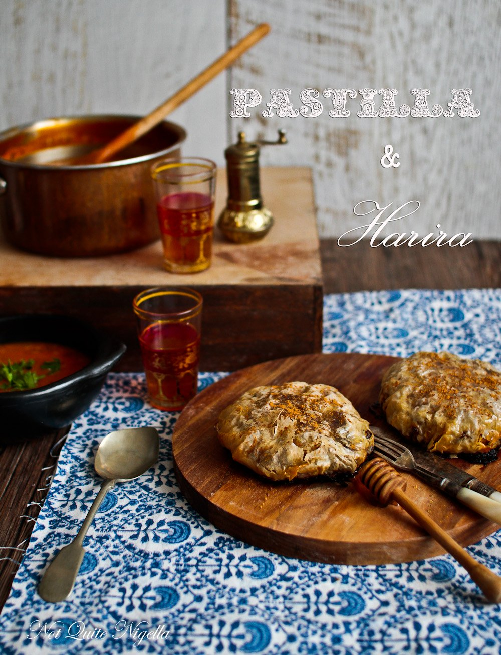 Moroccan Pastilla Harira