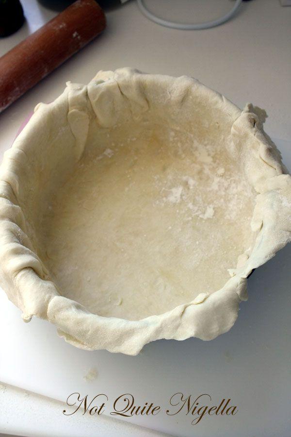 Mortadella, ricotta and olive pie: an Italo Anglo Pie