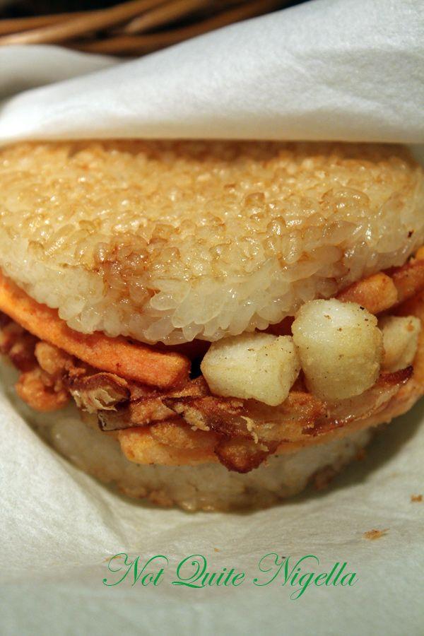 MOS burger Shibuya seafood rice burger