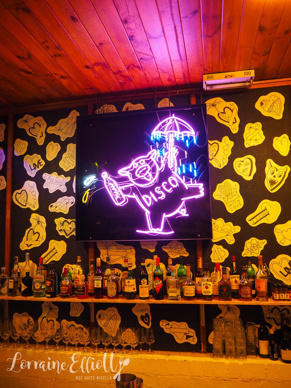 Mr Liquor's Dirty Italian Disco, Mascot