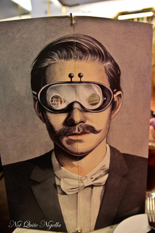 Mr Moustache Bondi Beach