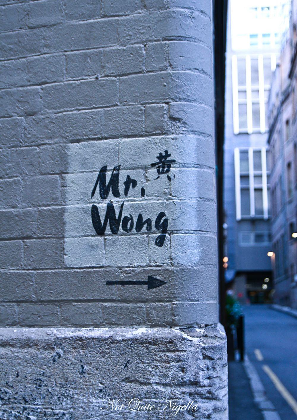 mr wong sydney